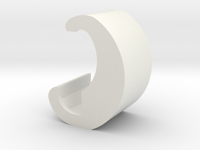 """Besatzungsteil """"Mond"""" 1:87 (H0 scale) in White Natural Versatile Plastic"""