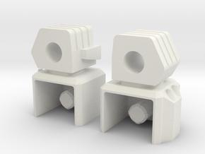 Razorclaw upgrade HANDS v3 in White Natural Versatile Plastic