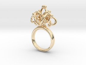 Sbosos 002 (7cm inner ring) in 14K Yellow Gold