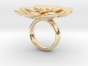 Sbosos 003 (6 cm inner ring) in 14K Yellow Gold