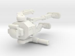 Vindicator VND-1R in White Natural Versatile Plastic