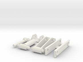 1/50 scale hoist in White Natural Versatile Plastic
