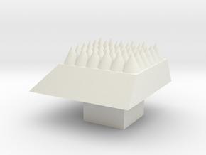 Key Stroke in White Natural Versatile Plastic