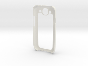 Samsung Galaxy S3 Case in White Natural Versatile Plastic