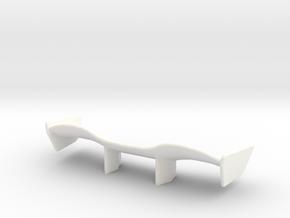 V1 Racer Wing 2.5 in White Processed Versatile Plastic