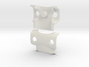 Simple Breastplate for ModiBot in White Natural Versatile Plastic