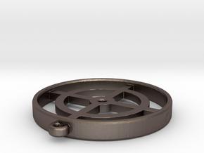 Target Pendant in Stainless Steel