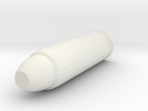 Main Barrel in White Natural Versatile Plastic