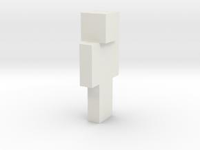 6cm | HappyCakeLover in White Natural Versatile Plastic