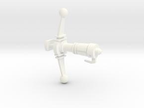 Energy Bow in White Processed Versatile Plastic