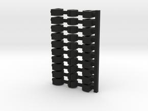 10x Scharfenberg(10) in Black Natural Versatile Plastic