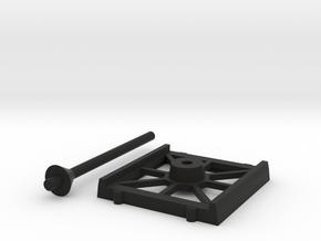 Bases Cheap 1 Fighter in Black Natural Versatile Plastic