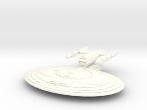 USS Elba in White Processed Versatile Plastic