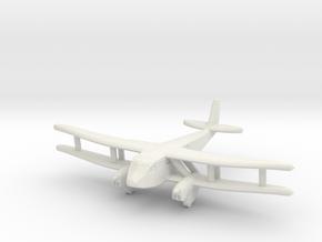 1/200 DH89 Dragon Rapide in White Natural Versatile Plastic