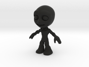MTI Newfella-shapeway-first03 in Black Strong & Flexible