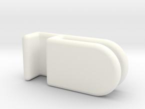 AquaOne Nano Lid Clips in White Processed Versatile Plastic