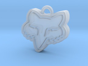 Charming Fox Racing Logo in Smooth Fine Detail Plastic