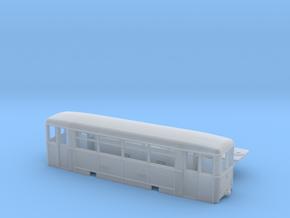 Aufbaubeiwagen (Werdauer BW) Spur H0m (1:87) in Frosted Ultra Detail