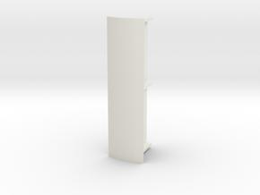 Abri 87 Dubbel Rond Dak in White Natural Versatile Plastic
