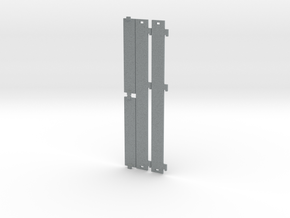 Trailer Side Panels - Britains 1/32 in Polished Metallic Plastic