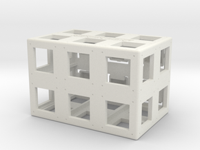 Rokenbok 2x3 ROK Block in White Strong & Flexible