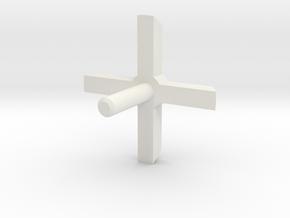 MBPI-A13-QUA2 in White Natural Versatile Plastic