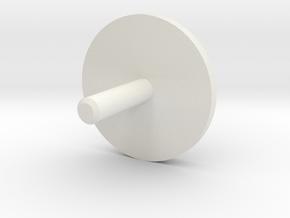 MBPI-A753-GEN in White Natural Versatile Plastic