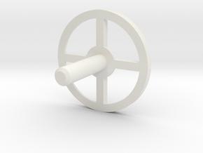 MBPI-A751-QUA in White Natural Versatile Plastic