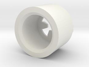 MBPI-B753-QUA in White Natural Versatile Plastic