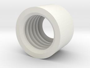 MBPI-B751-ZRO in White Natural Versatile Plastic
