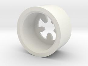 MBPI-B13-PEN in White Natural Versatile Plastic
