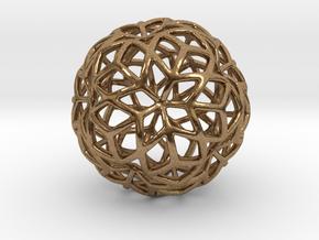 Incendia Ex 3D in Natural Brass