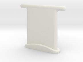 Atenna Vhf in White Natural Versatile Plastic