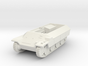 Vehicle- Katzchen APC (1/87th) in White Natural Versatile Plastic