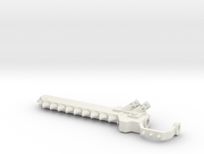 Chain Sword 6th Thinner Hollow in White Natural Versatile Plastic
