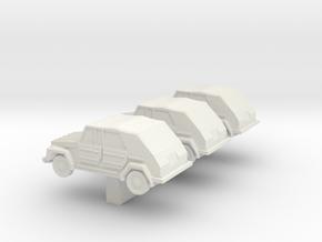 1/200 VW181 Kurierwagen in White Natural Versatile Plastic