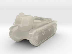 Vehicle- Renault R40 Tank (1/87th) in Transparent Acrylic