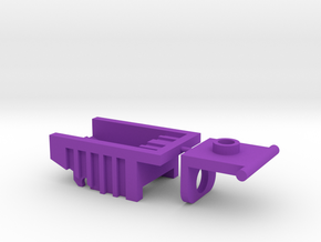 Kreon Addon - Dump Truck Bed in Purple Strong & Flexible Polished