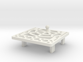 SSG Classic Servo Plate in White Strong & Flexible