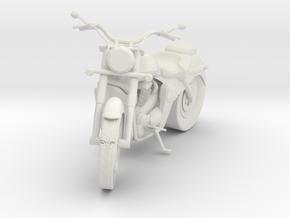 Honda Shadow 700cc in White Natural Versatile Plastic
