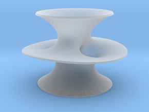 Costa's Minimal Surface in Smooth Fine Detail Plastic