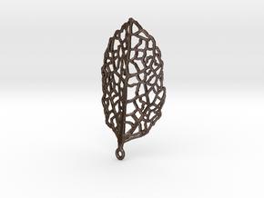 Nervures v2 in Polished Bronze Steel