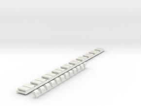 Zubehör Hofsalonwagen WLB in White Natural Versatile Plastic