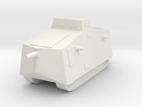 A7V 6mm scale in White Natural Versatile Plastic