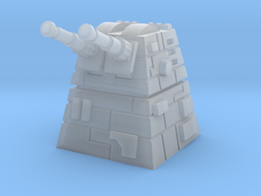 Turbolaser Turret in Smooth Fine Detail Plastic