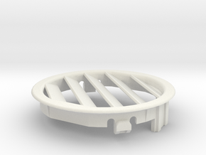Right Side Ford Focus Ventilation Grid in White Natural Versatile Plastic