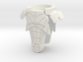 Allied7 Armor in White Natural Versatile Plastic
