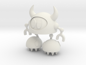 Whizzman Whizzbot in White Natural Versatile Plastic