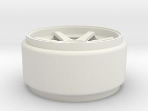 REAR VOLK in White Natural Versatile Plastic