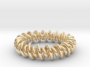 GW3Dfeatures Bracelet A in 14K Yellow Gold